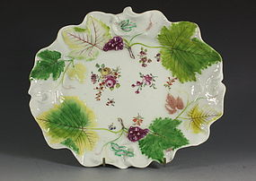 Fine Chelsea Red Anchor Dish C1755