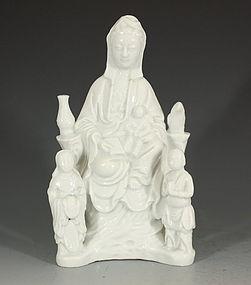 Blanc De Chine Guanyin, Kangxi C1690
