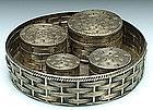 A Silver Betel Nut Set