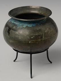 12th Century, Angkor Vat, Khmer Bronze Pot