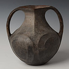 Han Dynasty, Rare Chinese Pottery Amphora
