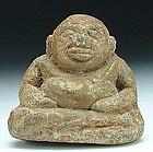 A Bronze Chinese Laughing Buddha