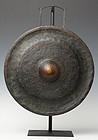 19th Century, Laos Bronze Gong