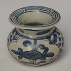 16th C., Ming, Chinese Porcelain Blue and White Jarlet
