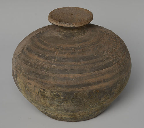 Han Dynasty, Chinese Pottery Jar