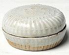 A White Glaze Covered Box