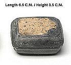 Color Glazed Camau Ceramic Covered Box