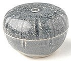 An Hoi An Cobalt Glaze Covered Box