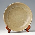 15th century, Burmese Celadon Plate