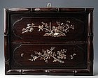 Vietnamese Inlaid Mother of Pearl Picture of Birds