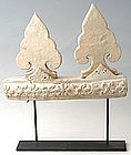 A Set of Sukhothai Architectural Fitting and Finials