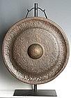 19th Century, Large Laos Bronze Gong