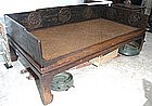 19th Century, Large Chinese Opium Bed