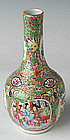 A Small Chinese Export Rose Medallion Vase