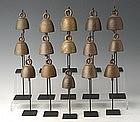 19th Century, Burmese Bronze Miniature Bell