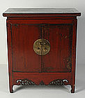 19th Century, Chinese Wooden Fubei Cabinet