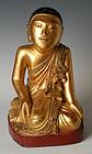 19th Century, Burmese Wooden Disciple