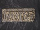 Kushan carved schist sculpture. 1st-3rd c.