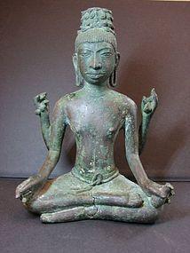 A Praconchai bronze figure of Avalokitsvara.
