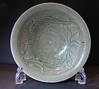 A Yaozhou celadon bowl. Jin dynasty.