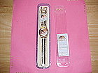FIORUCCI ITALIAN DESIGNER ANGEL WRISTWATCH GOLD COLOR