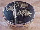 JAPANESE DAMASCENE KOMAI COMPACT BAMBOO PLANT INLAYED