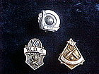 VINTAGE 200 & 500 CLUB & W.B.A BOWLERS AWARD PINS