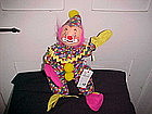 "ANNALEE DOLL 12"" CLOWN OPEN MOUTH SMILING"