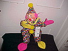 "ANNALEE DOLL 12"" CLOWN OPEN MOUTH SMILE W/ DIAMOND"