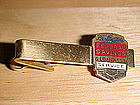 VINTAGE BURLINGTON FEDERAL SAVINGS & LOAN TIE CLIP 10YR