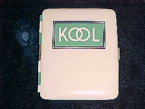 VINTAGE KOOL CIGARETTES ADVERTISING CIGARETTE CASE