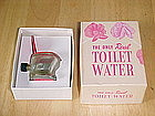 VINTAGE FIGURAL TOILET PERFUME BOTTLE W/ BOX