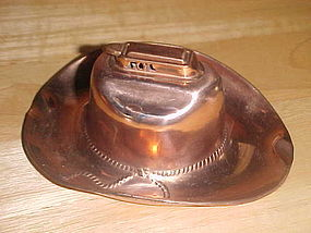 OCCUPIED JAPAN COWBOY HAT CIGARETTE LIGHTER