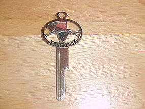 VINTAGE CHRYSLER CREST KEY BLANK FOR IGNITION & DOOR