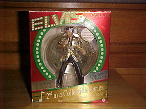 ELVIS PRESLEY CHRISTMAS ORNAMENT BY CARLTON CARDS