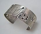 Ed Tobin Sterling Silver Artisan Bracelet