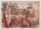 Harry Bertoia Monotype - Abstract Modernist