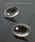 Frances Holmes Boothby Modernist Sterling Earrings