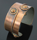 Pedro Pujol Modernist Artisan Copper Bracelet