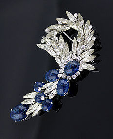 Christian Dior Sparkling Brooch - Germany 1968