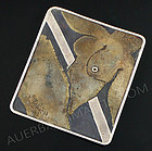 Marci Zelmanoff Modernist Abstract Brooch - Nude
