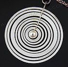 Tapio Wirkkala Silver Moon Modernist Necklace Finland