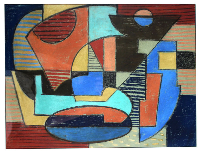 Ramstonev Modernist Abstract - New Hope School 1939