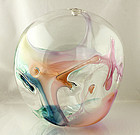 Peter Bramhall Modernist Abstract Art Glass Form