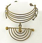 Xavier Gonzalez Modernist Organic Necklace
