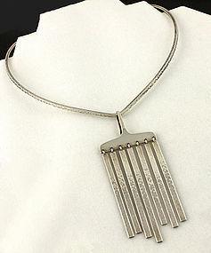 Bent Gabrielsen for Hans Hansen Silver Necklace Denmark