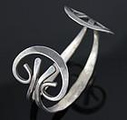 Ed Levin Modernist Sterling Bracelet - 1950
