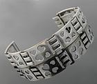 Danish Sterling Modernist Heart Bracelet - Munksgaard