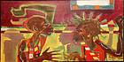 Pheoris West Painting - African American 20th Century Modernist PAFA