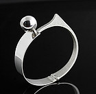 Uno A Erre Modernist Sterling Bracelet Orlandini Italy